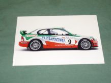 "HYUNDAI ACCENT EVO2 WRC 2001 original press photo 7x5"" (B)"